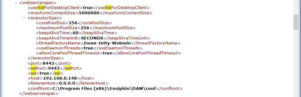 Sample Server.xml